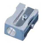 Kum® Block Sharpener: Blue, White/Ivory, One, Plastic, 24-Box, Manual, (model 402KM), price per 24-Box box