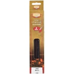 Heritage Arts™ Vine Charcoal Medium 4-Pack Set: Black/Gray, Medium, Stick, Vine