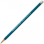 Prismacolor® 375 Series Turquoise® Drawing Pencil F: Black/Gray, F, Drawing, (model E375-F), price per dozen (12-pack)