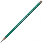 Prismacolor® 375 Series Turquoise® Drawing Pencil H: Black/Gray, H, Drawing, (model E375-H), price per dozen (12-pack)