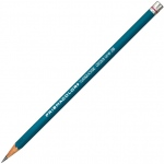 Prismacolor® 375 Series Turquoise® Drawing Pencil 3H: Black/Gray, 3H, Drawing, (model E375-3H), price per dozen (12-pack)
