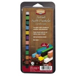 Heritage Arts™ Artist Soft Landscape 12-Color Pastel Set: Multi, Stick, Soft, (model ASP12LS), price per set