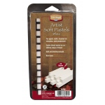 Heritage Arts™ White Artist Soft Pastel 12-Pack Set: White/Ivory, Stick, Soft, (model ASPW), price per set