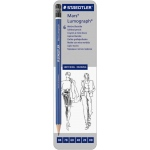 Lumograph® Drawing Pencil 6-Pack: Black/Gray, Drawing