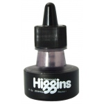Higgins® Waterproof Color Drawing Ink Neutral Gray: Black/Gray, Bottle, Dye-Based, 1 oz, Waterproof, (model SN44112), price per each