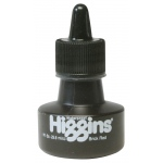 Higgins® Waterproof Color Drawing Ink Red Brick: Red/Pink, Bottle, Dye-Based, 1 oz, Waterproof, (model SN44114), price per each
