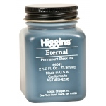 Higgins® Eternal Black Writing Ink: Black/Gray, Jar, Pigment, 2.5 oz, (model SN44041), price per each