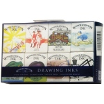 Winsor & Newton™ Drawing Ink Supplemental Set: Multi, Bottle, 14 ml, Drawing Ink