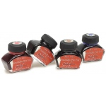 Manuscript Calligraphy Ink Black: Black/Gray, Jar, Fountain, 1 oz
