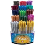 Gelly Roll® Metallic Pen Display: Multi, Gel, 1mm, (model S57402D), price per each