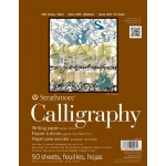 "Strathmore 8.5"" x 11"" Tape Bound Calligraphy Pad"