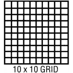 "Clearprint® 1000H Series 24 x 36 Vellum 10-Sheet Pack 10x10 Grid: Sheet, 10"" x 10"", 10 Sheets, 24"" x 36"", 16 lb, (model CP10203228), price per 10 Sheets"