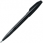 Pentel® Sign Pens™ Black: Black/Gray, Water-Based, Fine Nib, (model S520-A), price per each