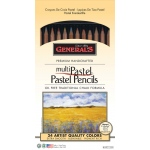 General Pastel Pencil 24-Color Set