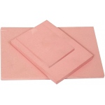 "Speedball® Speedy-Stamp™ 3"" x 4"" Carving Block: Red/Pink, Rubber, No, 3"" x 4"", 1/4"", Block, (model S4107), price per each"