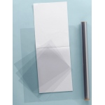 "Grafix® Clear-Lay™ 19"" x 24"" x .005"" Vinyl Film: Clear, Pad, 25 Sheets, 19"" x 24"", .005"", Film"