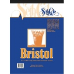 "Seth Cole 14 x 17 Vellum Finish Bristol Board Pad: Vellum, Pad, 12 Sheets, 14"" x 17"", 100 lb, (model SC67VB), price per 12 Sheets pad"