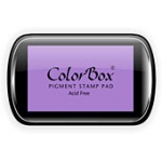 ColorBox® Full Size Ink Pad Heliotrope: Purple, Pad, Pigment, Full Size Rectangle, (model CS15036), price per each