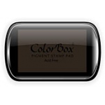ColorBox® Full Size Ink Pad Chestnut: Brown, Pad, Pigment, Full Size Rectangle, (model CS15165), price per each