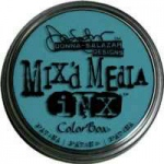 ColorBox® Mix'd Media Inx™ Patina Pigment Ink Pad: Blue, Pad, Pigment, Refillable, (model CS37009), price per each