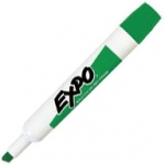 Expo® Dry-Erase Broad-Tip Marker Green: Green, Chisel Nib, (model SN830-G), price per each