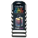 ColorBox® Color Carrier: 7 Ink Pads, Black/Gray, Plastic