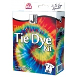 Jacquard Funky Groovy Tie Dye Kit: 5 Shirts, Multi, Tie Dye, (model JAC9445), price per kit