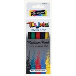 Jacquard Tee Juice™ Fabric Marker Set 4: Multi, Marker, Fabric