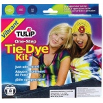 Tulip® One-Step Dye™ Vibrant Tie-Dye Kit for 8 Shirts: 8 Shirts, Multi, Bottle, Tie Dye, (model D22675), price per kit