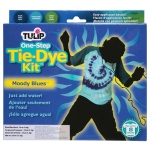 Tulip® One-Step Dye™ Moody Blues Tie-Dye Kit for 8 Shirts: 8 Shirts, Multi, Bottle, Tie Dye, (model D25544), price per kit