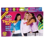 Tulip® One-Step Dye™ Ultimate Tie-Dye Kit for 20 Shirts: 20 Shirts, Multi, Bottle, Tie Dye, (model D22676), price per kit