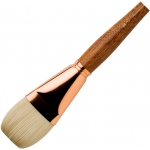 Princeton™ Best Refine Natural Bristle Oil and Acrylic Brush Flat 16 : Best, Long Handle, Bristle, Natural, Flat, Acrylic, Oil