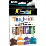 Jacquard Tee Juice™ Fabric Marker Set 2: Multi, Marker, Fabric, (model PENBX02), price per set