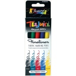Jacquard Tee Juice™ Fabric Marker Set 3: Multi, Marker, Fabric, (model PENBX05), price per set