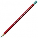 Cretacolor® Graphite Pencil F: Green, F, Drawing, (model SF1516010), price per dozen (12-pack)