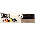Liquitex® Basics Acrylic 12-Color Set: Multi, Tube, 22 ml, Acrylic, (model 101012), price per set