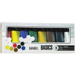 Liquitex® Basics Acrylic 8-Color Set: Multi, Tube, 75 ml, Acrylic, (model 101008), price per set